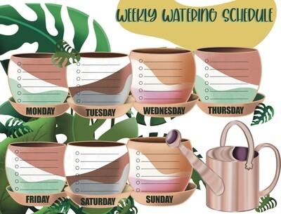 Plant Watering Schedule