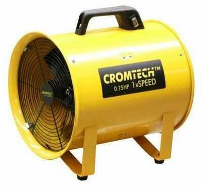 Cromtech Metal Blower 1xSpeed 0.75HP