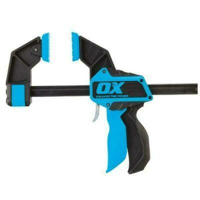 "OX Pro Heavy Duty Bar Clamp - 12"""" / 300mm"""