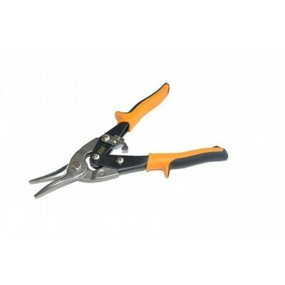 OX Pro Aviation Tin Snips - Straight Cut YELLOW