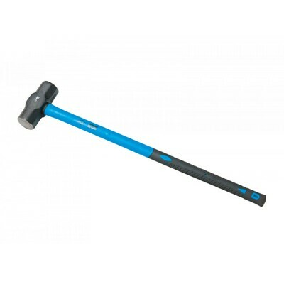 OX Trade Sledge Hammer, Fibreglass Handle - 12lb / 4.5kgs