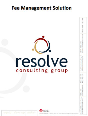 Resolve Fee Management Solution