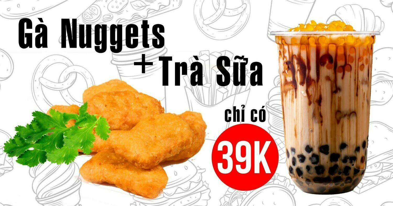 Combo Gà Nuggets + Trà Sữa
