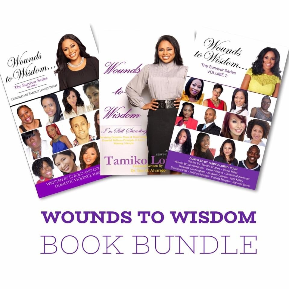 Wounds to Wisdom Book Bundle