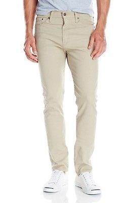 Levis 510 Skinny Fit - Khaki Beige Denim
