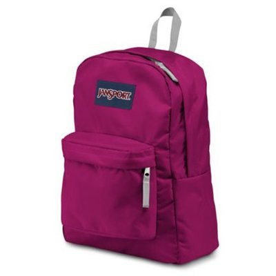 Jansport Superbreak Backpack - BerryLicious Purple