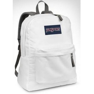 Jansport Superbreak Backpack - White
