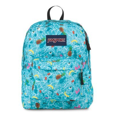 Jansport Superbreak Backpack - Multipool Party