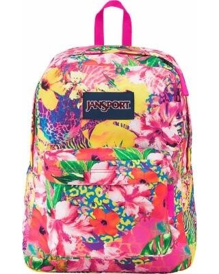 Jansport Superbreak Backpack - Tropical Mania