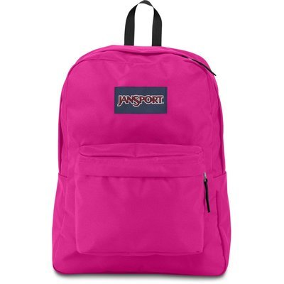 Jansport Superbreak Backpack - Cyber Pink