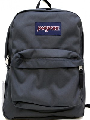 Jansport Superbreak Backpack - Charcoal