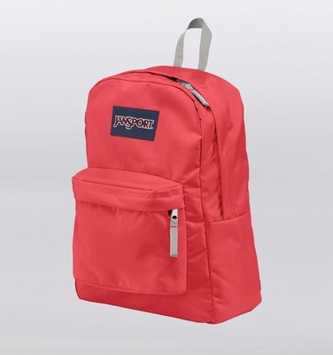 Jansport Superbreak Backpack - Coral Dusk