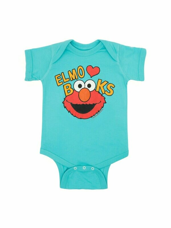 Elmo Loves Books Onesie