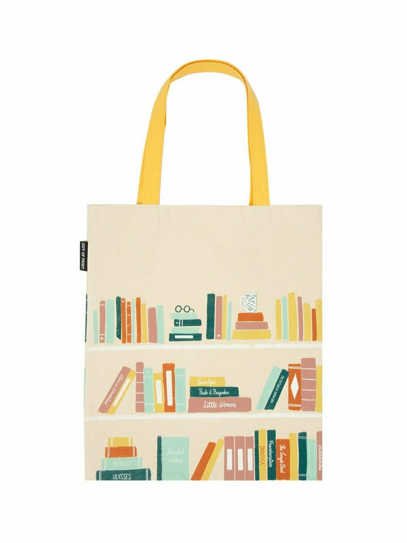 Bookshelf tote bag