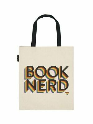 Book Nerd Pride tote bag
