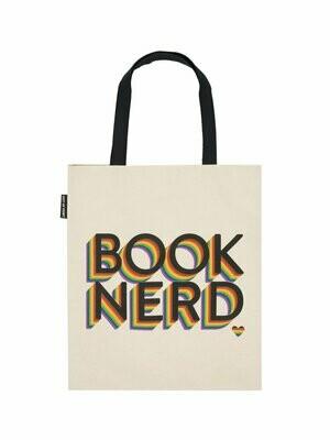 Book Nerd Pride tote bag