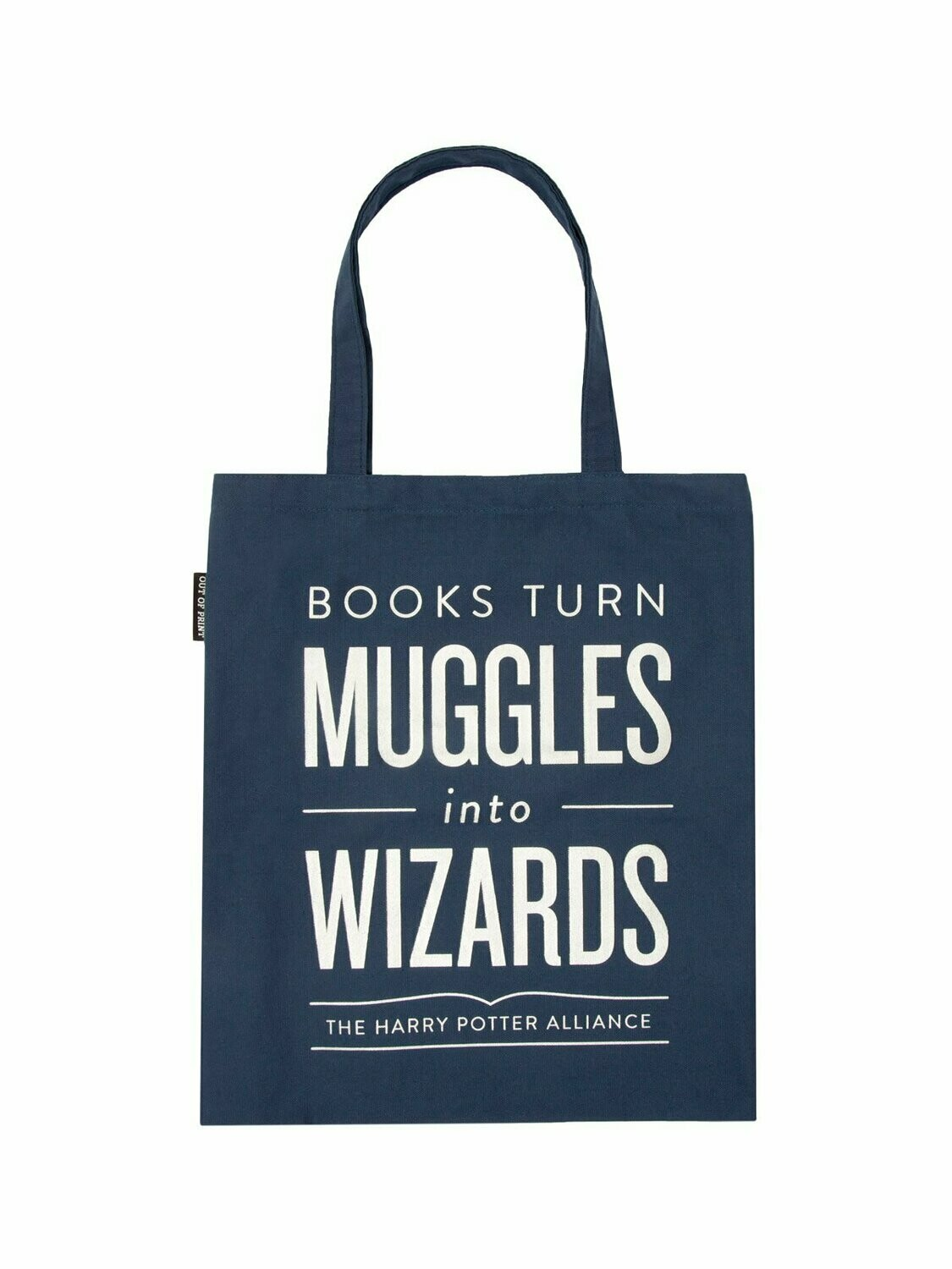 """Harry Potter """"Books Turn Muggles Into Wizards"""" tote bag"""