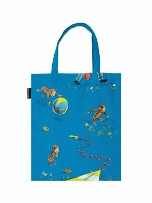 Curious George tote bag