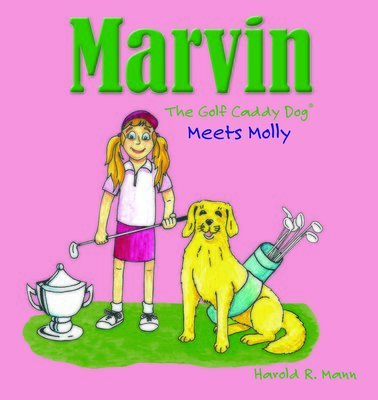Marvin the Golf Caddy Dog Meets Molly