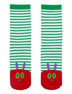 The Very Hungry Caterpillar socks
