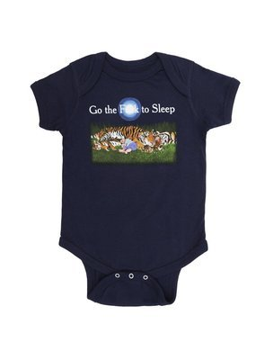 Go the F**k to Sleep Onesie