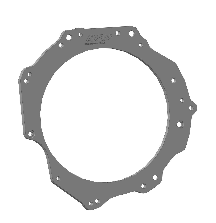 Переходная плита ВАЗ-DQ250 полный привод