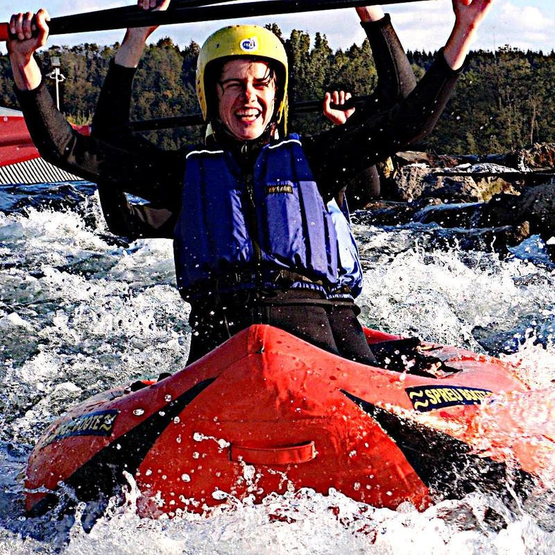 Canadier-Rafting Allgäu
