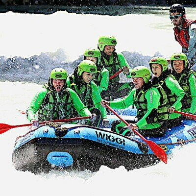 Voucher for our rafting tours in Tyrol