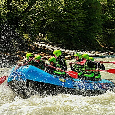 Voucher for our Tyrolean rafting packages