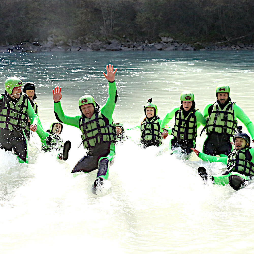 Rafting weekend Tyrol: rafting tour Imster Schlucht + Ötztaler Ache + overnight stay