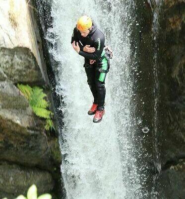 Gutschein Canyoning Tagestour