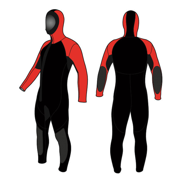 Canyoning Wetsuit made by Sandiline 6.5mm