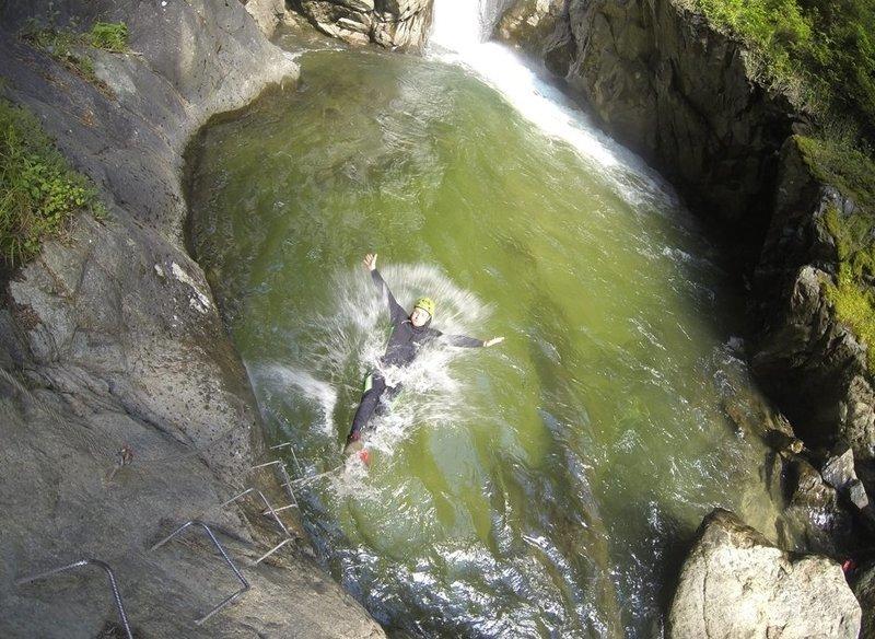 Canyoning Untere Auerklamm