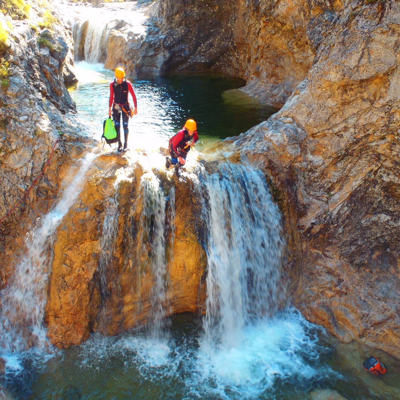 Canyoning Halfday Tour: Stuibenfälle