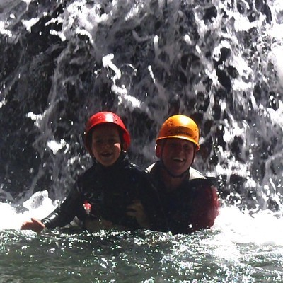 Canyoning for Families and Kids
