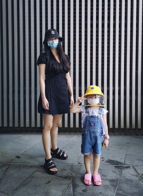 BAAF PROTECTIVE 6 PANEL BUCKET HAT (KIDS)