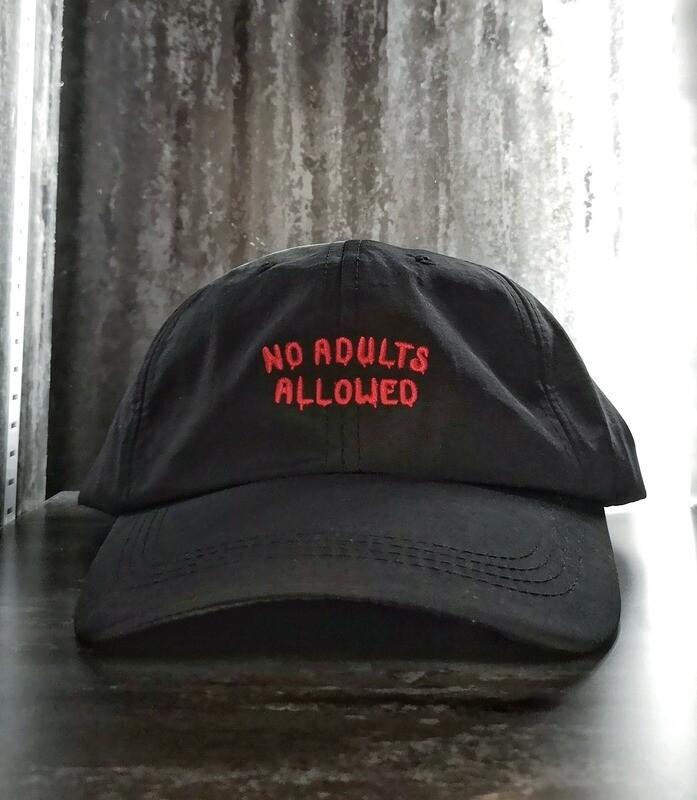 NO ADULTS ALLOWED CAP