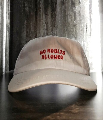 NO ADULTS ALLOWED CAP