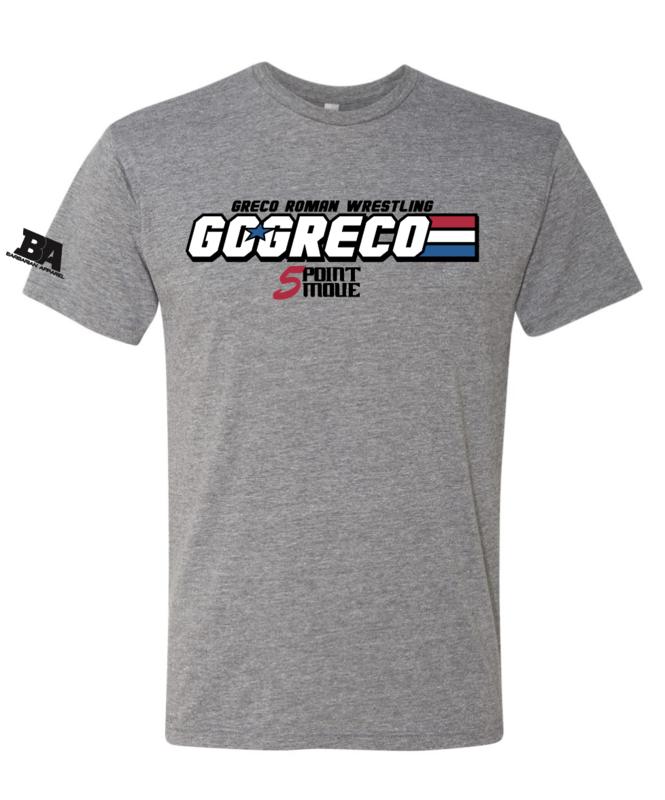 Go Greco US Stripes Triblend Shirt
