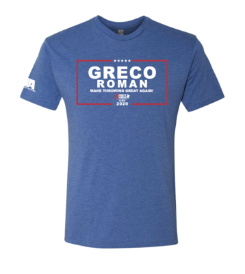 Make Greco Great Again Triblend Shirt