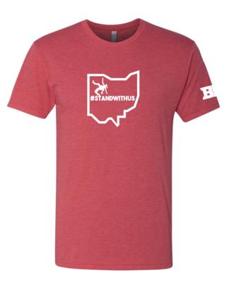 #Standwithus Unisex Triblend Shirt