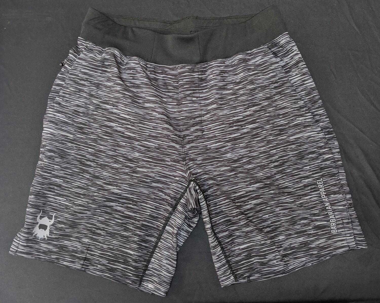 Barbarian Heather Grey Elite Shorts
