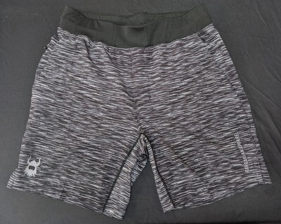 Barbarian Heather Grey Elite Shorts