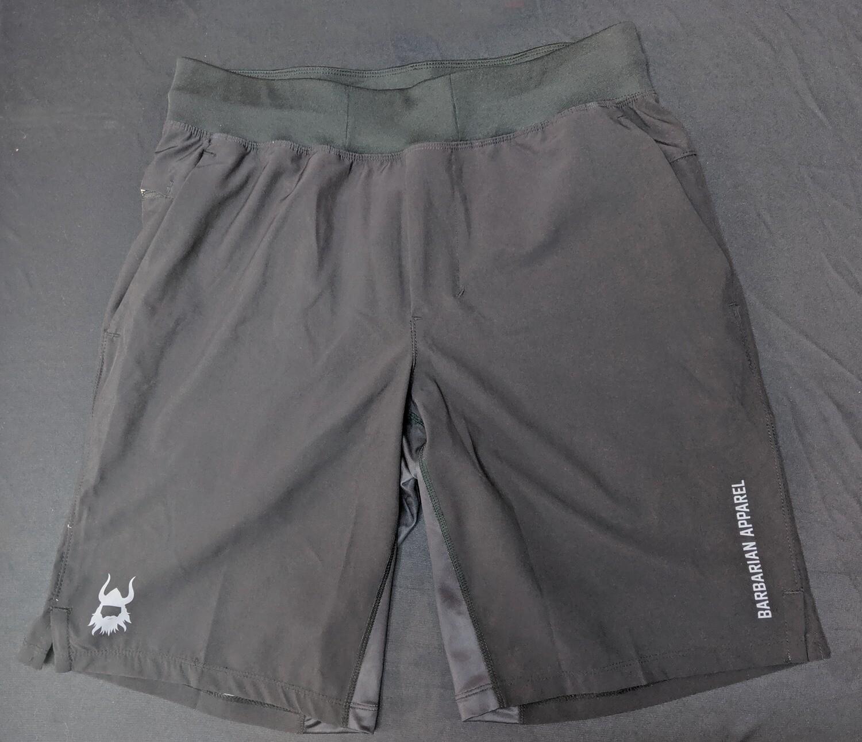 Barbarian Black Elite Shorts