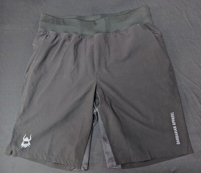 Barbarian Black Elite Shorts