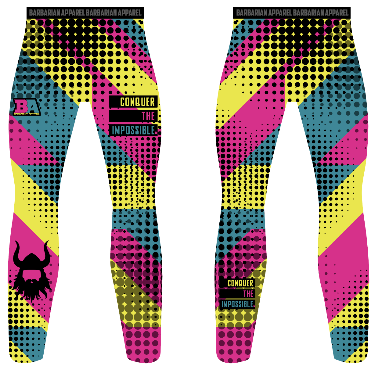BA NEON WOMENS Compression Pants