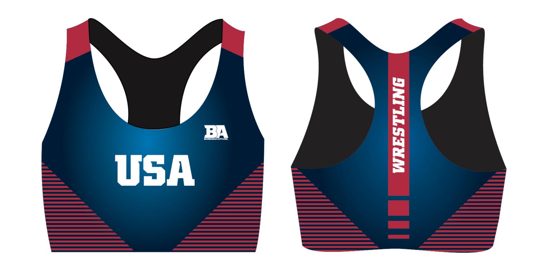 NEW USA Sports Bra