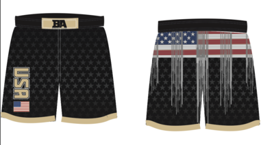 BLACK USA SHORTS