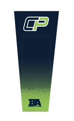 PALMER GREEN/NAVY SUBLIMATED KNEEPAD