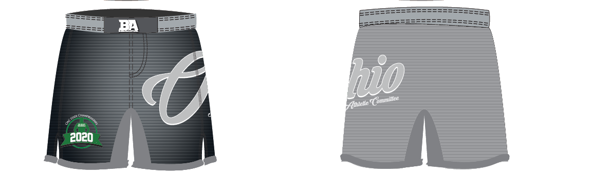 2020 OAC Shorts Gray